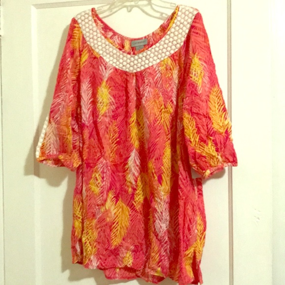 Catherines Tops - Catherine's Tropical Shirt